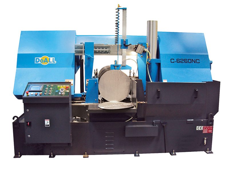 Picture of the C-6260NC Utility Line sawing machine