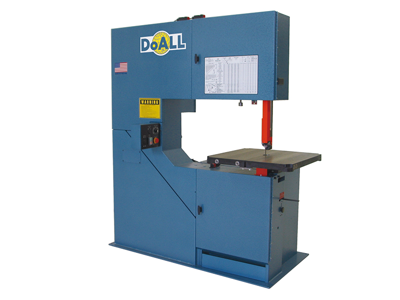 doall 3613-V3 Vertical contour zaagmachine