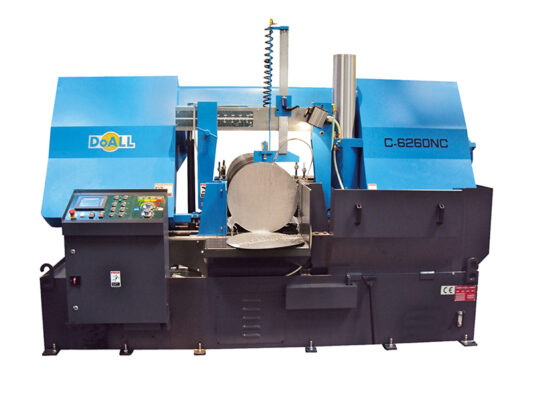 [:nl]DoALL C-6260NC Utility Line zaag machine [:en]Picture of the C-8070NC Utility Line sawing machine[:]