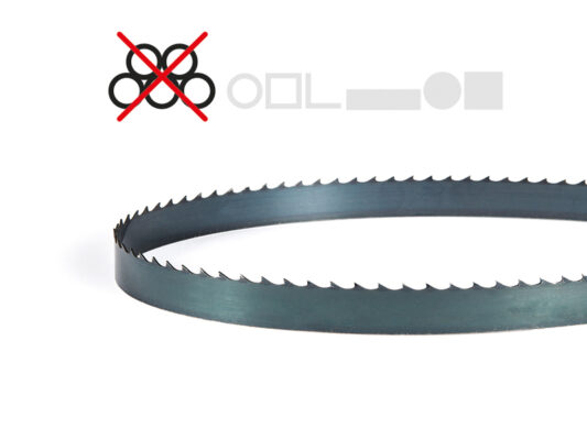 [:nl]DoALL Metal Master koolstof lintzaag [:en]Picture of a DoALL Tungsten grit band saw blade[:]