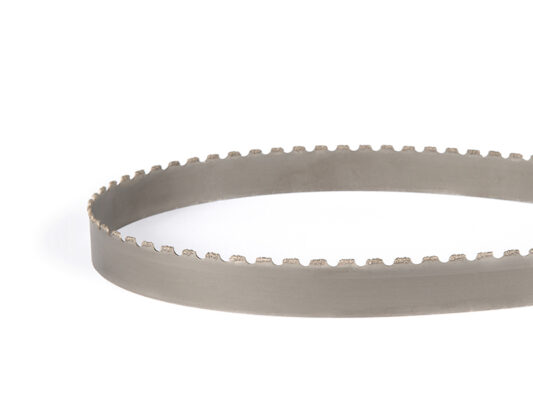 [:nl]DoALL Tungsten grit lintzaag [:en]Picture of a DoALL Tungsten grit band saw blade[:]