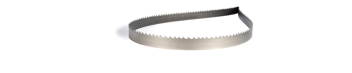 Picture of a Bi-Metal band saw blade