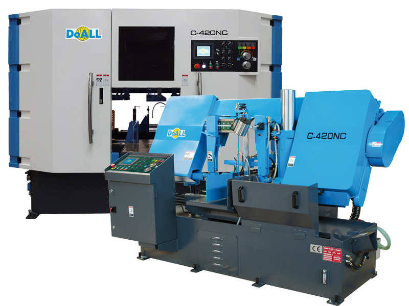 doall C-420NC Utility Line sawing machine