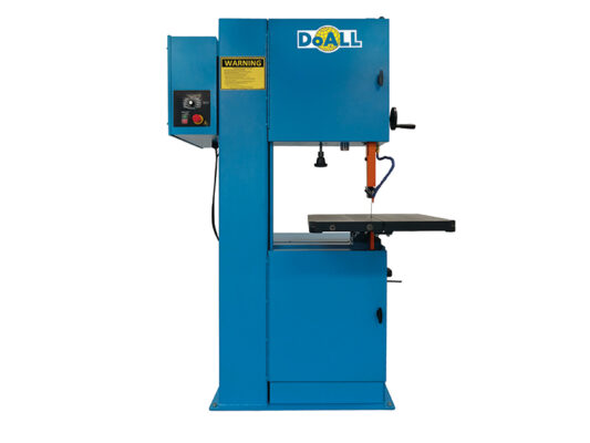 [:nl]doall 2013-V3 Vertical contour zaagmachine [:en]Picture of the DoALL StructurALL Prime band saw blade[:]