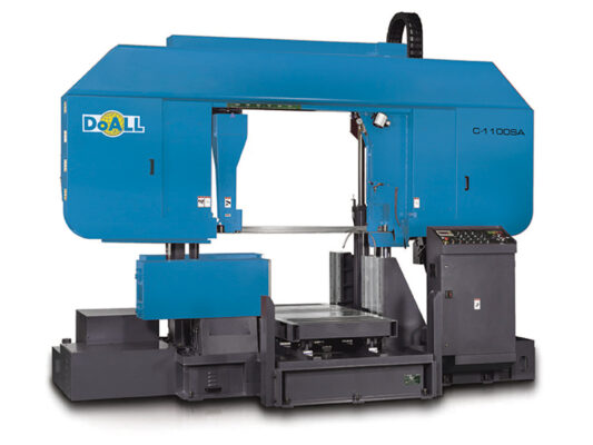 doall C-1100SA Utility Line sawing machine
